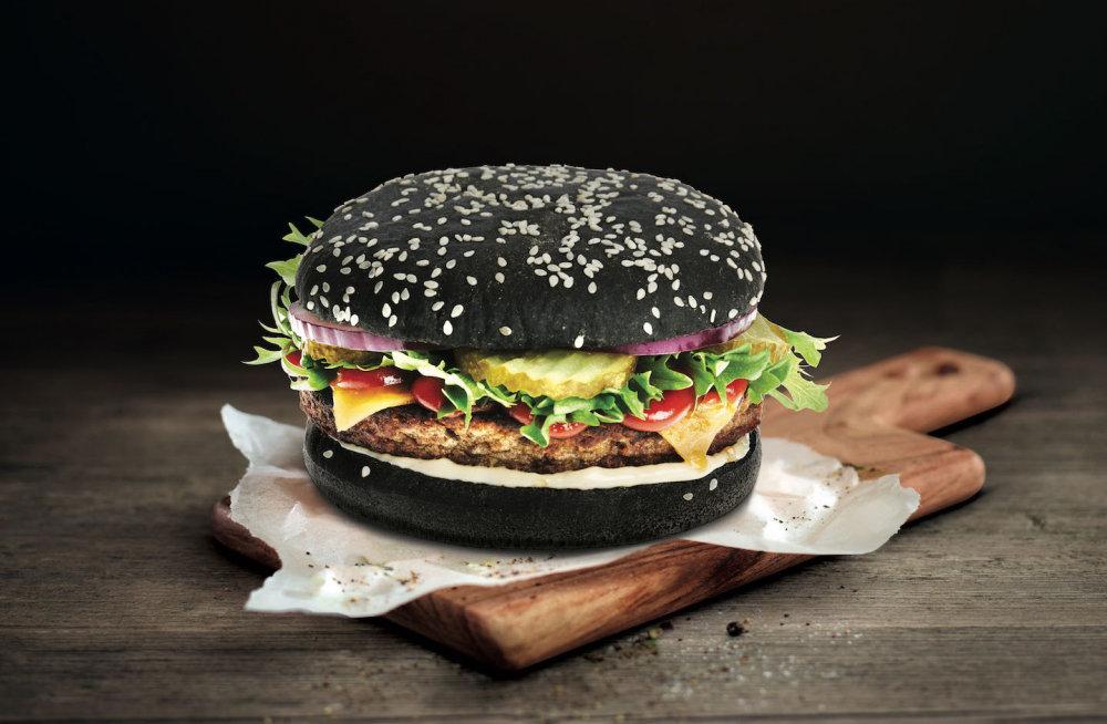 Всё про черный бургер